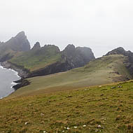 Dùn seen from Ruival